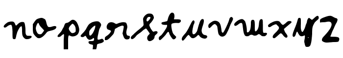 Fontie Font LOWERCASE