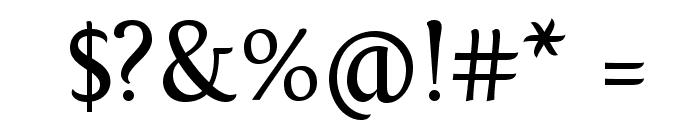 Fontin Regular Font OTHER CHARS