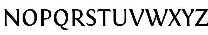 Fontin Regular Font UPPERCASE