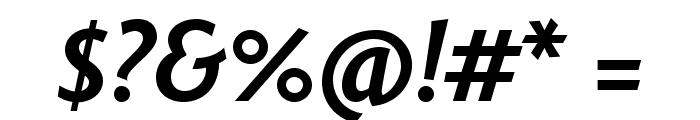 Fontin Sans Bold Italic Font OTHER CHARS