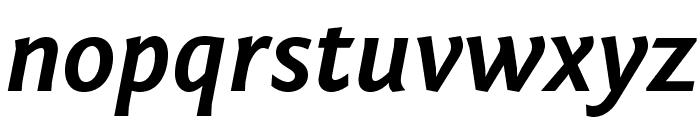 Fontin Sans Bold Italic Font LOWERCASE