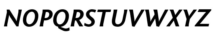 Fontin Sans CR Bold Italic Font UPPERCASE