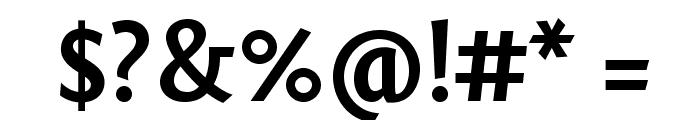 Fontin Sans CR Bold Font OTHER CHARS