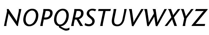Fontin Sans CR Italic Font UPPERCASE