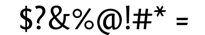 Fontin Sans CR Regular Font OTHER CHARS