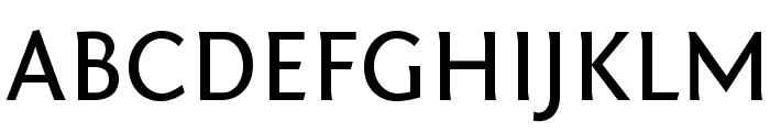 Fontin Sans CR Regular Font UPPERCASE