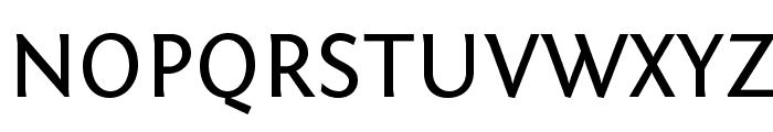 Fontin Sans Regular Font UPPERCASE