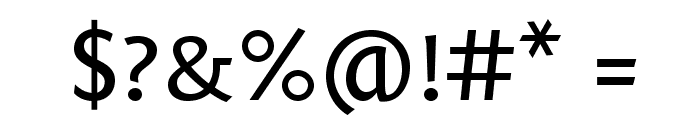 Fontin Sans Small Caps Font OTHER CHARS