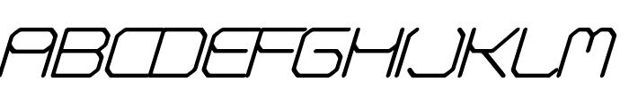 Fontmaker's Choice Italic Font UPPERCASE