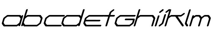 Fontmaker's Choice Italic Font LOWERCASE