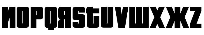 Fontograd Regular Font UPPERCASE