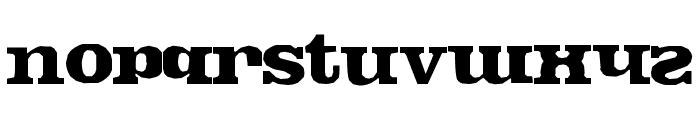 FontosCrude Font LOWERCASE