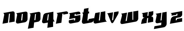 Fontovision II 3D Font LOWERCASE