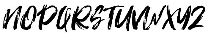Fontrust Font UPPERCASE