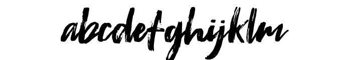 Fontrust Font LOWERCASE