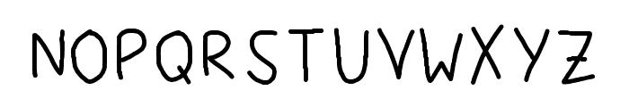 Fonty Regular Fonty Font UPPERCASE