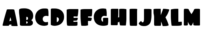 Foo-Regular Font LOWERCASE
