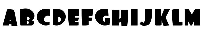 Foo Font UPPERCASE