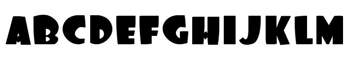 Foo Font LOWERCASE