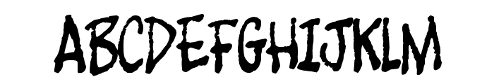 Foot Fight Font UPPERCASE