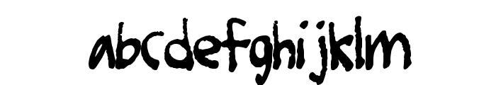 Foot Fight Font LOWERCASE