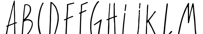 For Girls Only Font LOWERCASE
