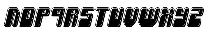 Force Majeure Bevel Italic Font UPPERCASE