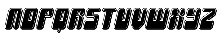 Force Majeure Bevel Italic Font LOWERCASE