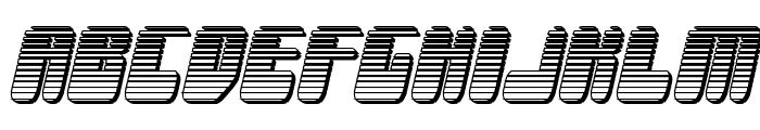 Force Majeure Chrome Italic Font LOWERCASE