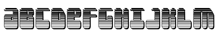 Force Majeure Chrome Font UPPERCASE