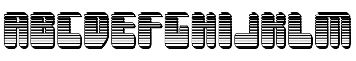 Force Majeure Chrome Font LOWERCASE