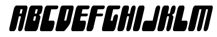 Force Majeure Condensed Italic Font LOWERCASE