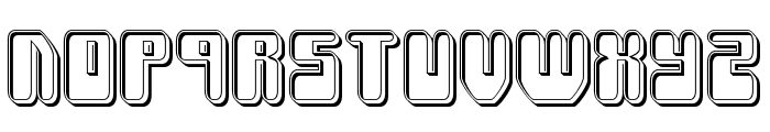 Force Majeure Engraved Font UPPERCASE