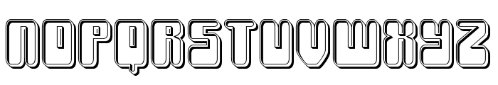 Force Majeure Engraved Font LOWERCASE