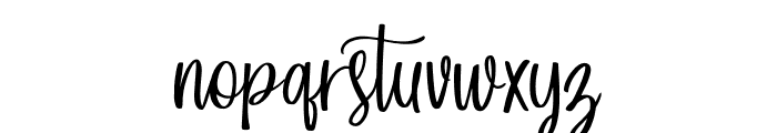 Forefarmers DEMO Regular Font LOWERCASE