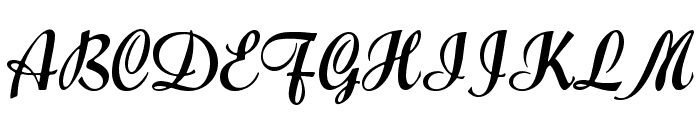 Forelle Font UPPERCASE