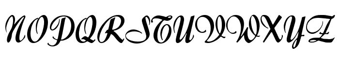 Forelle Font UPPERCASE