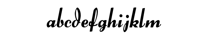 Forelle Font LOWERCASE