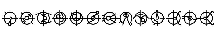 Forerunner Font LOWERCASE