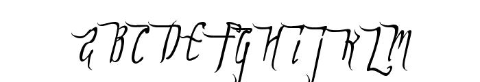 ForestLakes Font UPPERCASE