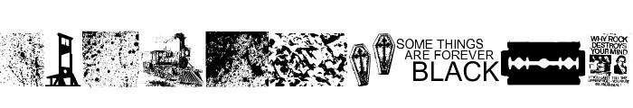 Forever Black Font OTHER CHARS