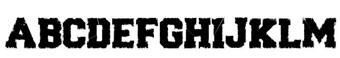 Forever Black Font UPPERCASE