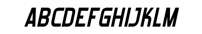 Forgotten Futurist Bold Italic Font UPPERCASE