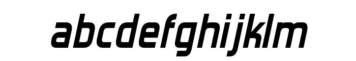 Forgotten Futurist Bold Italic Font LOWERCASE