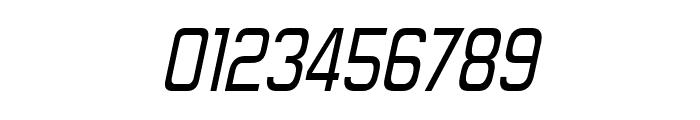 Forgotten Futurist Italic Font OTHER CHARS