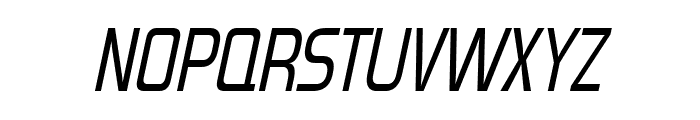 Forgotten Futurist Italic Font UPPERCASE