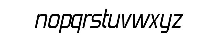 Forgotten Futurist Italic Font LOWERCASE