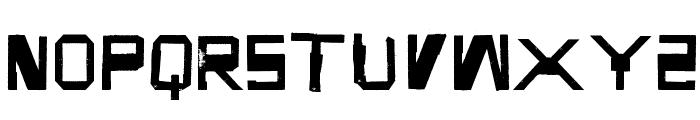 Forgotten Junk Font UPPERCASE