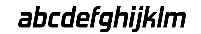 ForgottenFuturistRg-BoldItalic Font LOWERCASE