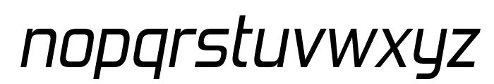 ForgottenFuturistRg-Italic Font LOWERCASE